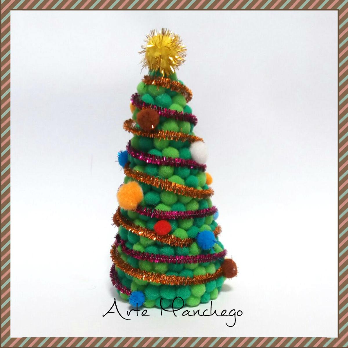 Rbol de navidad arte manchego tu tienda online de for Arbol navidad online
